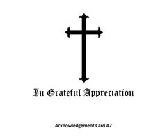 Acknowledgement Card A2