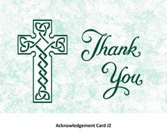 Acknowledgement Card J2