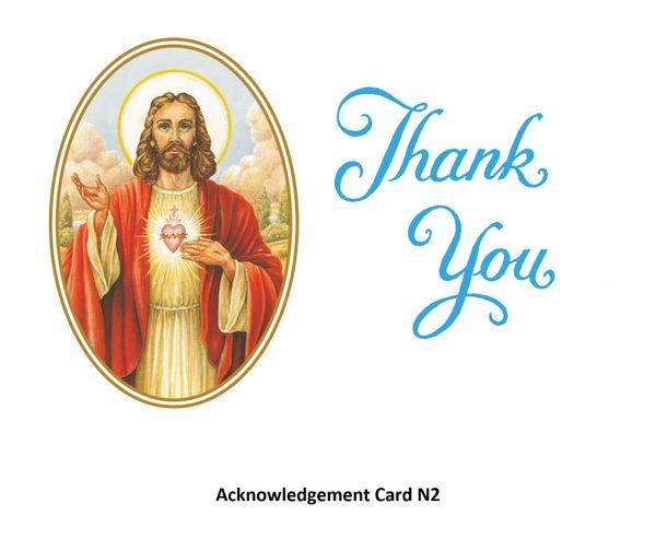 Acknowledgement Card N2