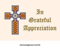 Acknowledgement Card R2