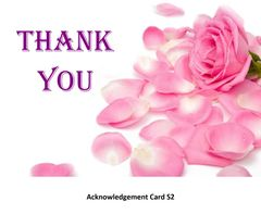 Acknowledgement Card S2