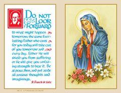 Folder Memorial Card M6
