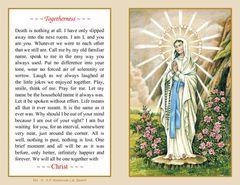 Folder Memorial Card M4