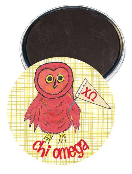 Chi Omega Logo Logo Magnet