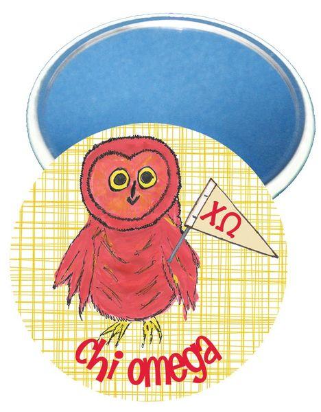 Chi Omega Logo Logo Mirror