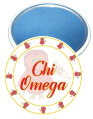 Chi Omega Logo Sorority Mirror