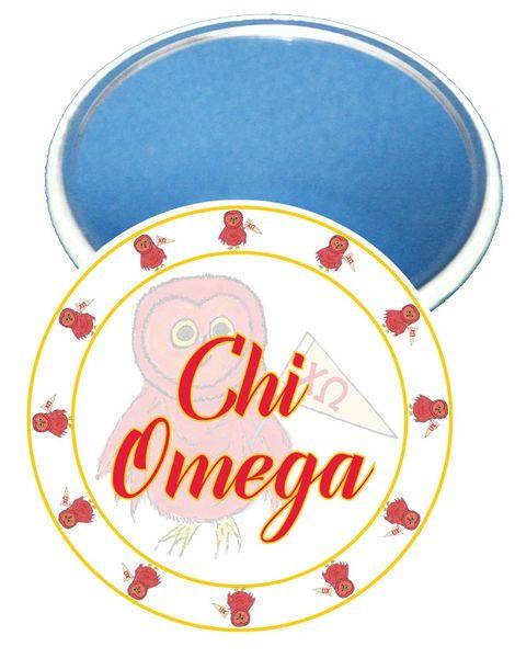 Chi Omega Logo Sorority Mirror
