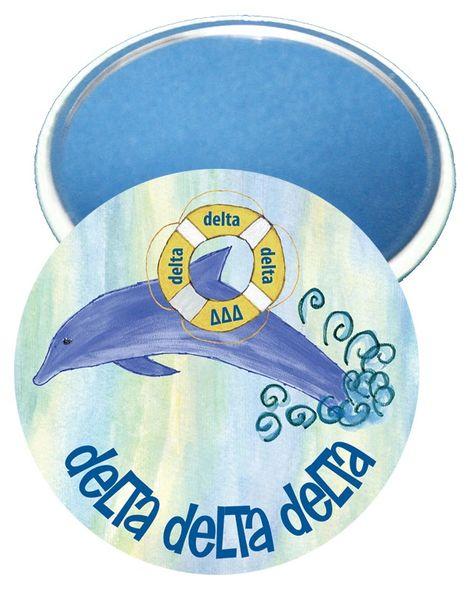 Delta Delta Delta Logo Mirror