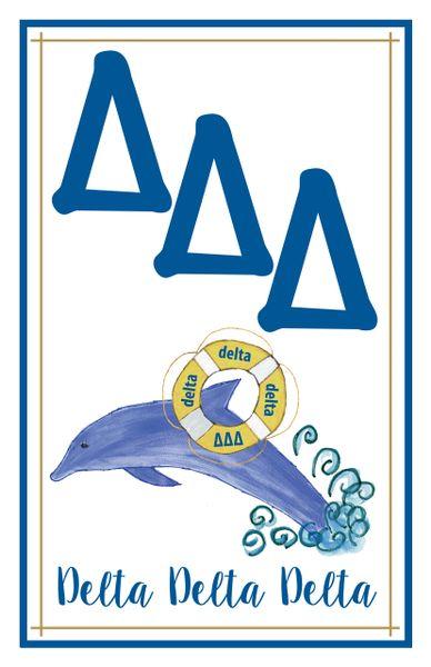 Delta Delta Delta Logo Poster