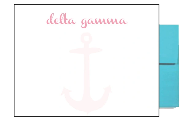 Delta Gamma Background Postcards