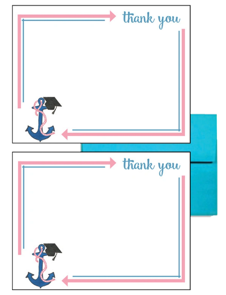 Delta Gamma Graduation Postcards