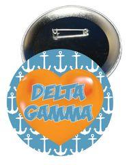 Delta Gamma Heart Button