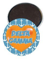 Delta Gamma Heart Magnet
