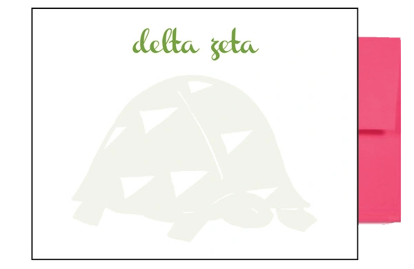 Delta Zeta Background Postcards