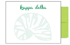 Kappa Delta Background Postcards