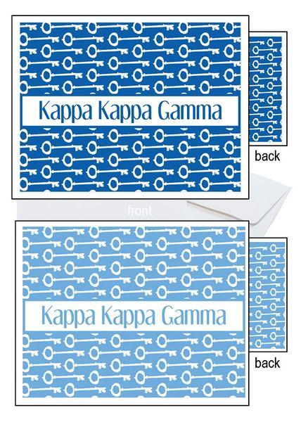 Kappa Kappa Gamma Sorority Notecards