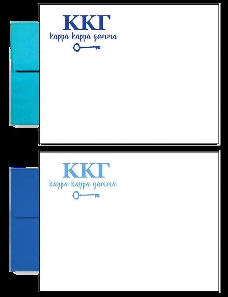 Kappa Kappa Gamma Letter Postcards