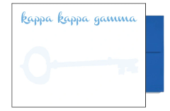 Kappa Kappa Gamma Background Postcards