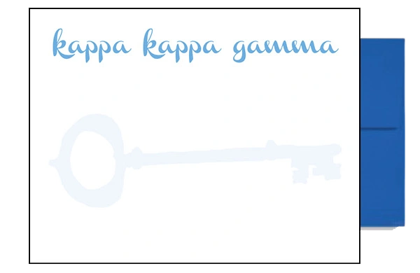 Kappa Kappa Gamma Background Postcards