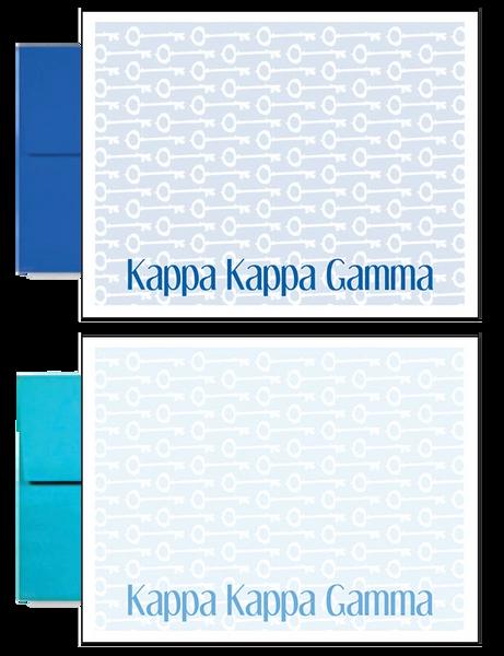 Kappa Kappa Gamma Sorority Postcards