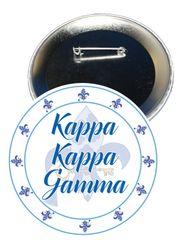 Kappa Kappa Gamma Sorority Button