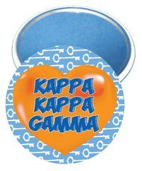 Kappa Kappa Gamma Heart Mirror