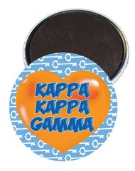 Kappa Kappa Gamma Heart Magnet