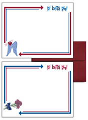 Pi Beta Phi Arrow Postcards