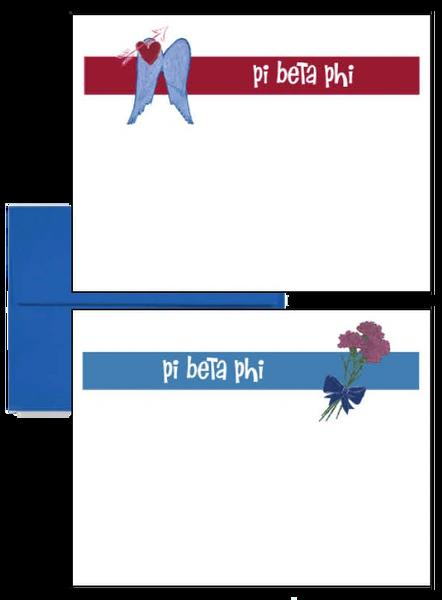 Pi Beta Phi Logo Postcards