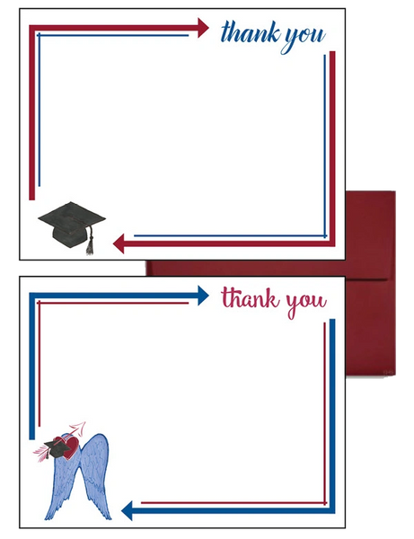 Pi Beta Phi Graduation Postcards