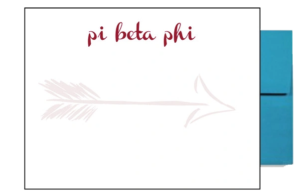 Pi Beta Phi Background Postcards