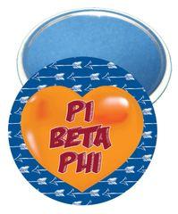 Pi Beta Phi Heart Magnet