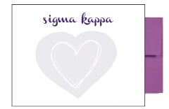 Sigma Kappa Background Postcards