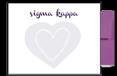 Sigma Kappa Background Postcards