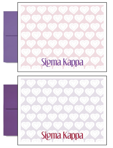 Sigma Kappa Sorority Postcards