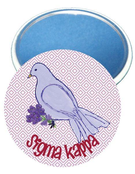 Sigma Kappa Logo Mirror