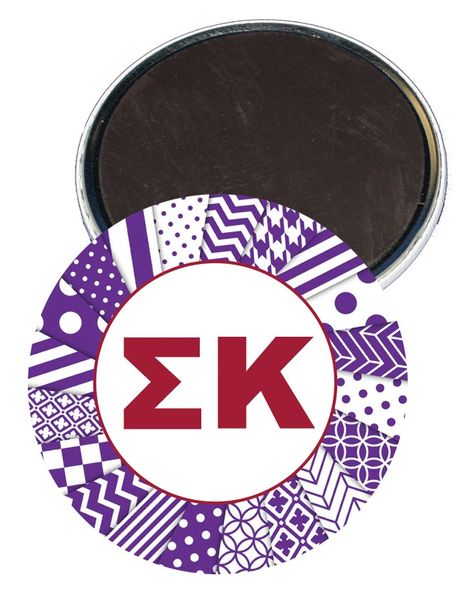 Sigma Kappa Letters Magnet
