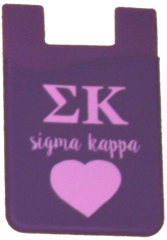 Sigma Kappa Cell Phone Pocket