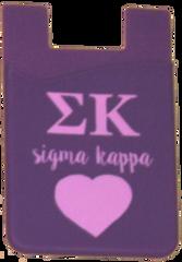 Sigma Kappa Cell Phone Pocket