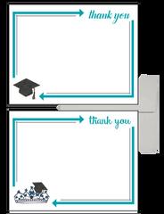Zeta Tau Alpha Graduation Postcards