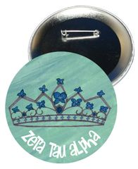 Zeta Tau Alpha Logo Button