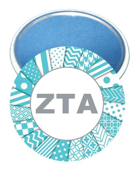 Zeta Tau Alpha Letters Mirror