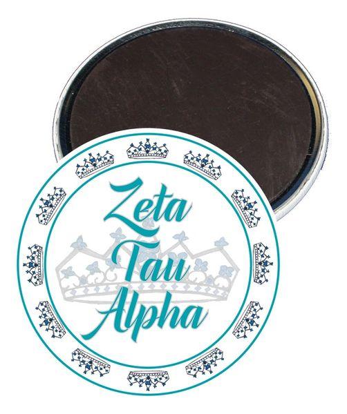 Zeta Tau Alpha Sorority Magnet