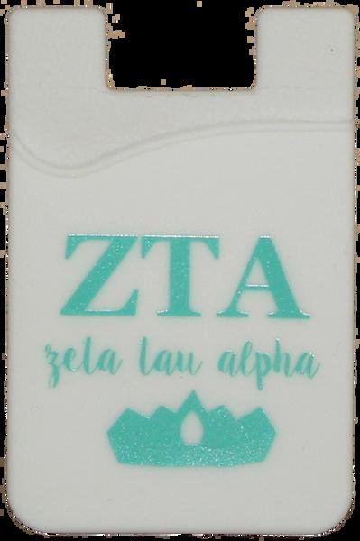 Zeta Tau Alpha Cell Phone Pocket