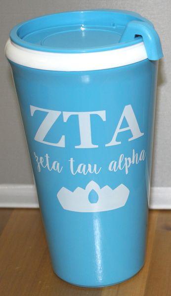 Zeta Tau Alpha Coffee Tumbler