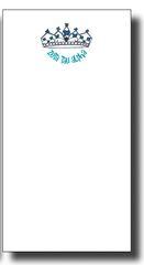 Zeta Tau Alpha Skinny Notepad
