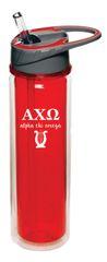 Alpha Chi Omega Plastic Water Bottle