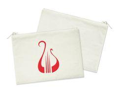 Alpha Chi Omega Small Cosmetic Bag