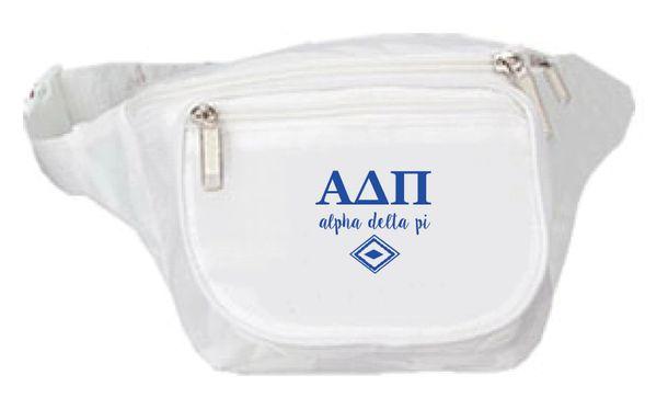 Alpha Delta Pi Fanny Pack - Logo