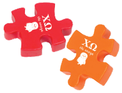 Chi Omega Stress Reliever - Puzzle